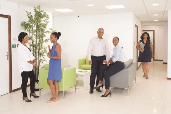 Collaborateurs BNP Paribas Antilles-Guyane - centre d'affaires Dillon Martinique