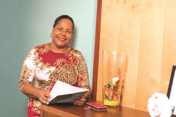Nadine Jeanette - président conseil administration - CAF Martinique