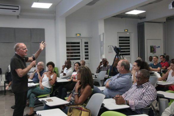 Conférence Christian Cauvin - Contact-Entreprises Martinique