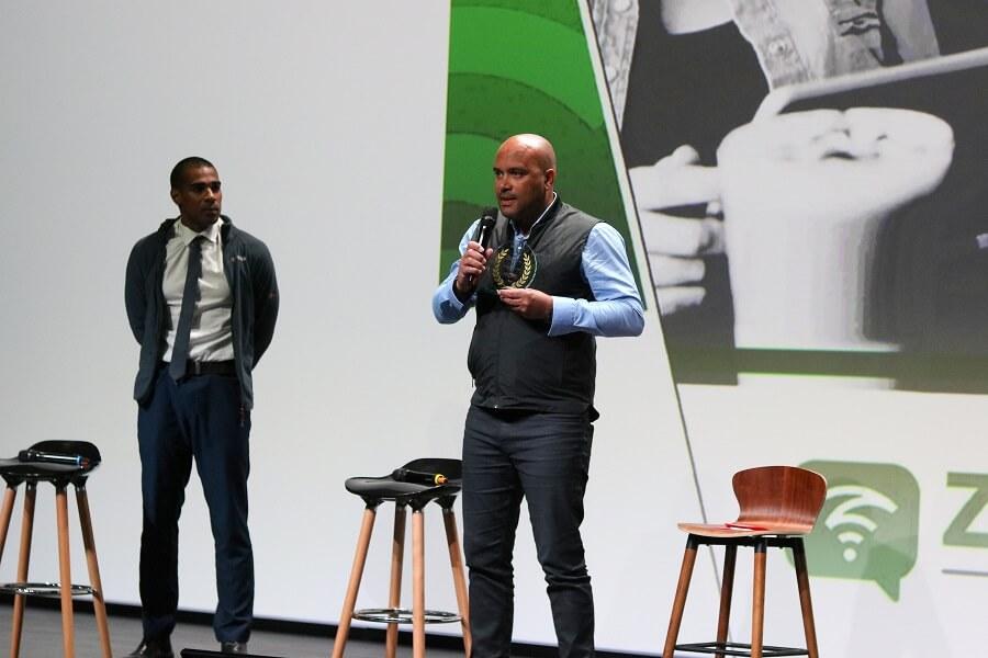 Créateur de Zeewifi, remise des prix Innovation Outre-Mer 2019