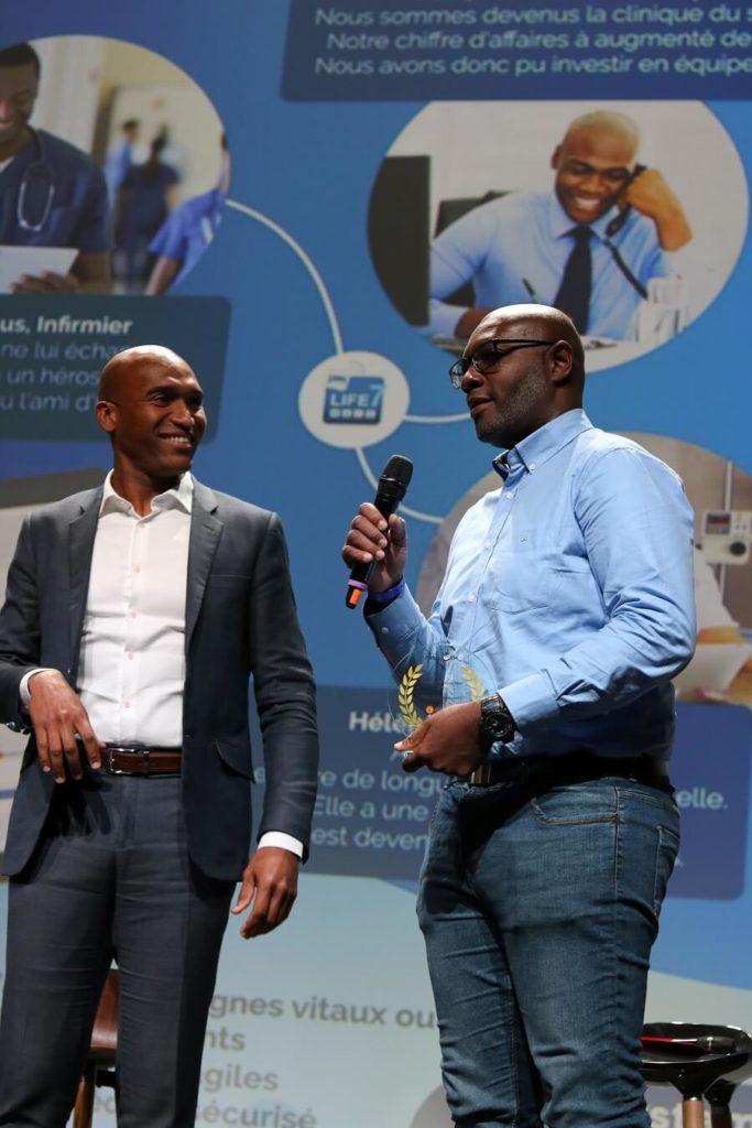 Créateur id9 System, remise des prix Innovation Outre-Mer 2019
