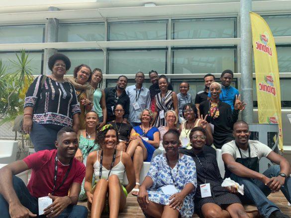 Participants concours d'éloquence F'Kréyol - JCE Antilles-Guyane