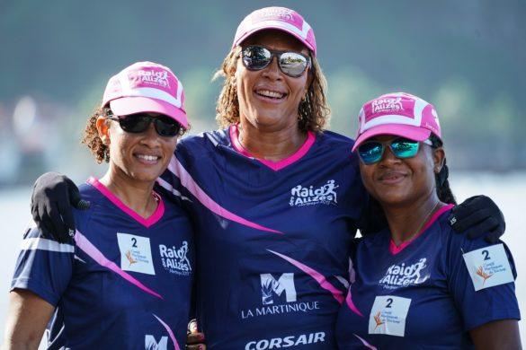 Equipe Douvan Pou Sekouris Matinitjé du Raid des Alizés - Martinique 2019
