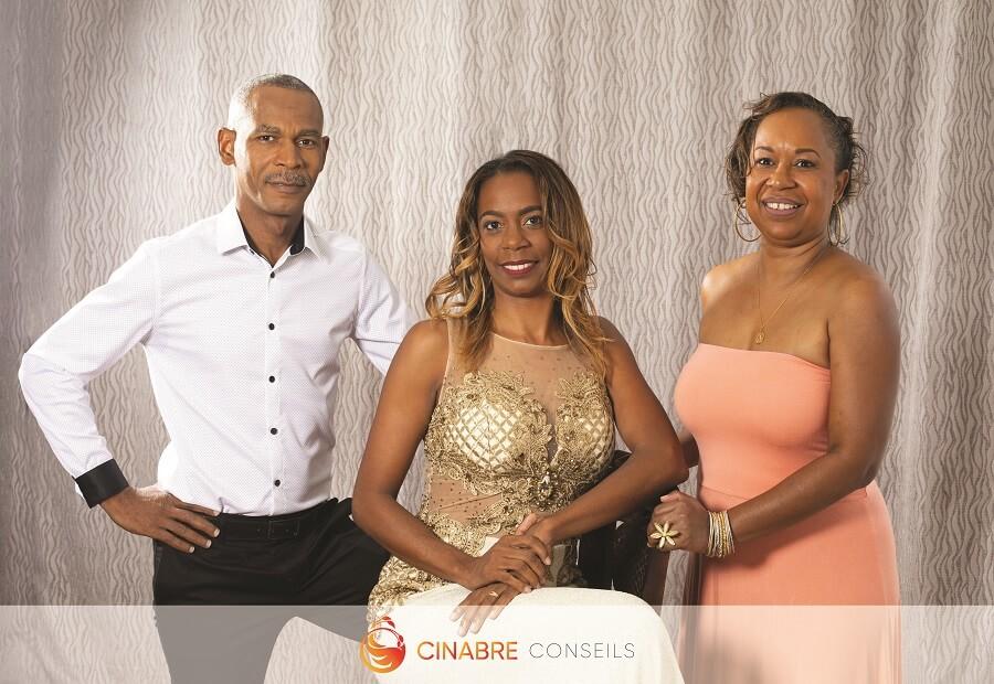 Equipe - Agence O Cinabre Conseils - Martinique