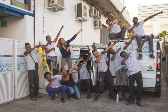 Equipe Air Clean - Service de location de climatiseurs - Martinique