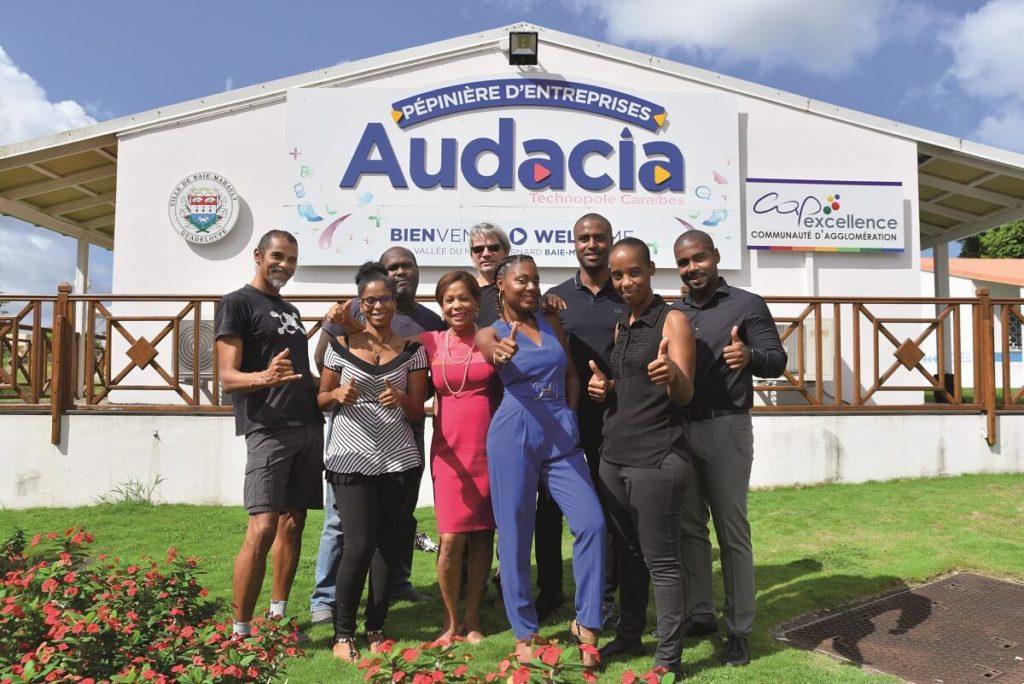 Promotion 2020 startups innovantes - Pépinière d'entreprises Audacia - Guadeloupe