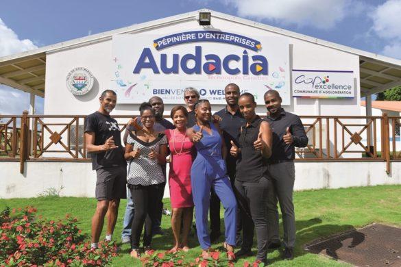Promotion 2020 startups Pépinière d'entreprises Audacia - Guadeloupe