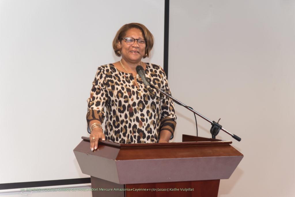 Voeux 2020 - Ariane Fleurival - Cesece Guyane