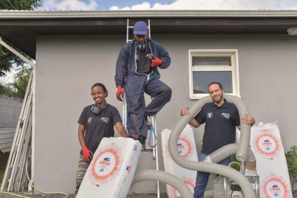 Equipe ENR FREE Caraibes - installation de solutions d'isolation thermique - Martinique et Guadeloupe