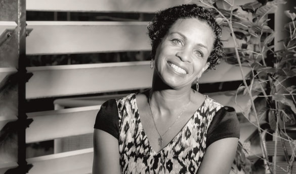 Karine Rinna - chef de projet Ferme Experimentale - Guyane Developpement Innovation