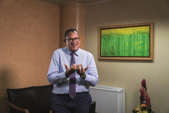 Alain Bièvre - président directoire Guadeloupe Pôle Caraibes
