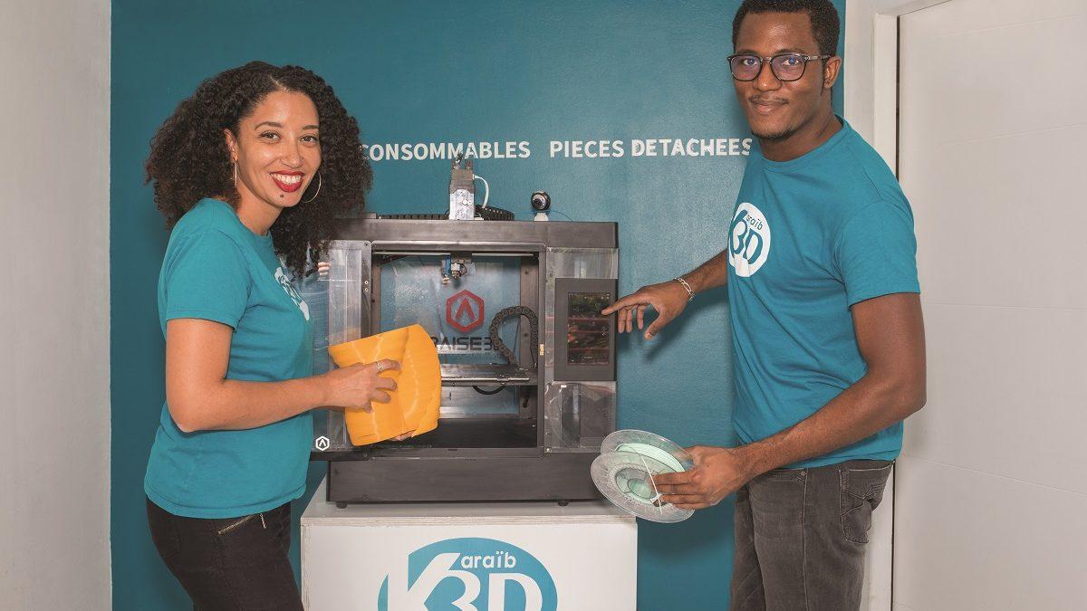 Karaïb 3D, l'impression 3D personnalisée en Martinique