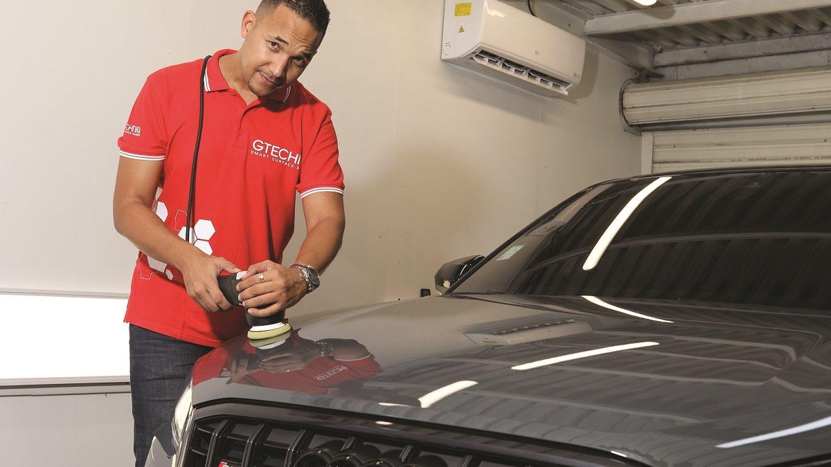 KN Detailing nettoie, restaure et protège la peinture de votre véhicule