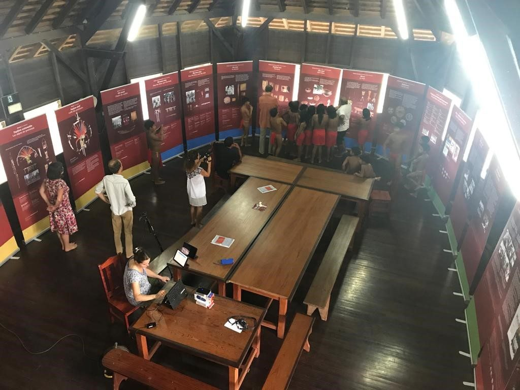 Exposition Watau, les chemins de la mémoire - Projet SAWA - Guyane