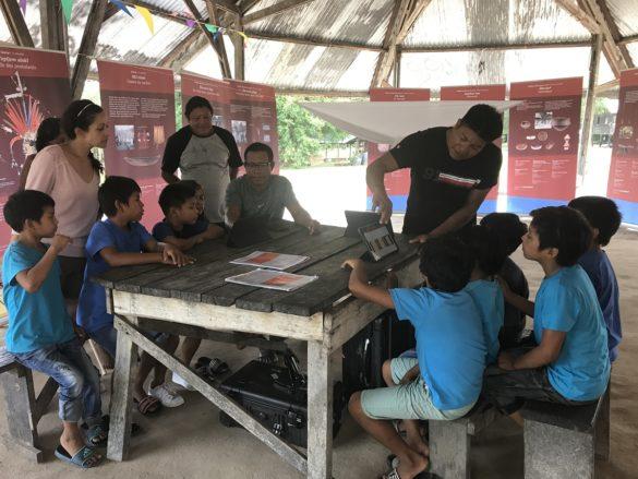 Atelier enfants - Projet SAWA - Guyane