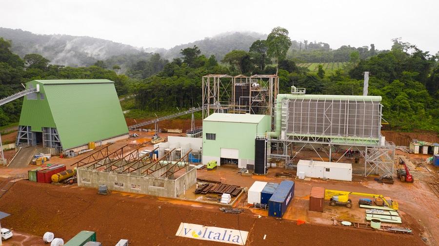 Centrale électrique - énergies renouvelables - Voltalia Guyane