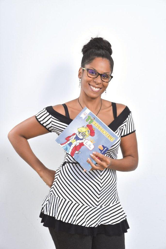 Karine Cece - livre pour enfants Ti Racoonteur - Guadeloupe