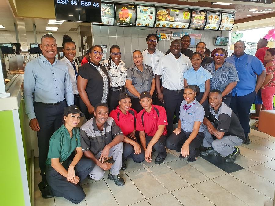 Collaborateurs McDonald's Guyane