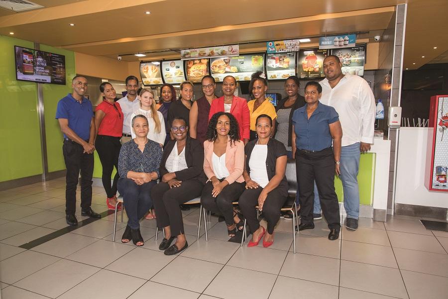 Collaborateurs McDonald's Martinique