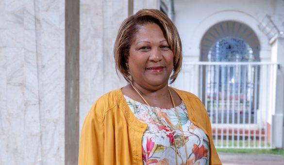Ariane Fleurival - présidente du CESECE Guyane