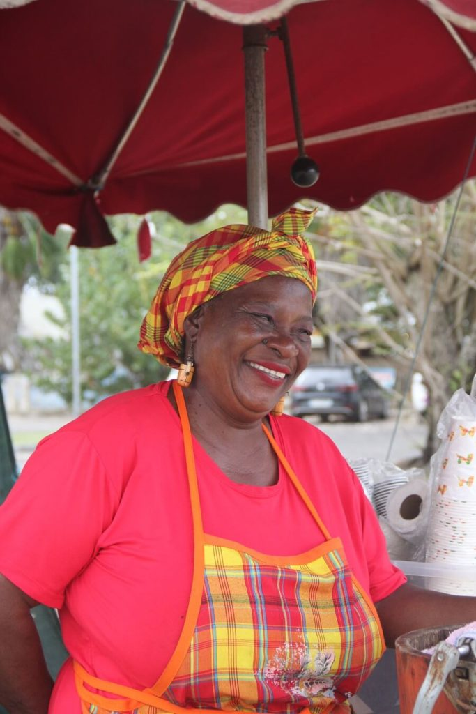 Janine Brasseur - Vendeuse de gâteaux - Guadeloupe