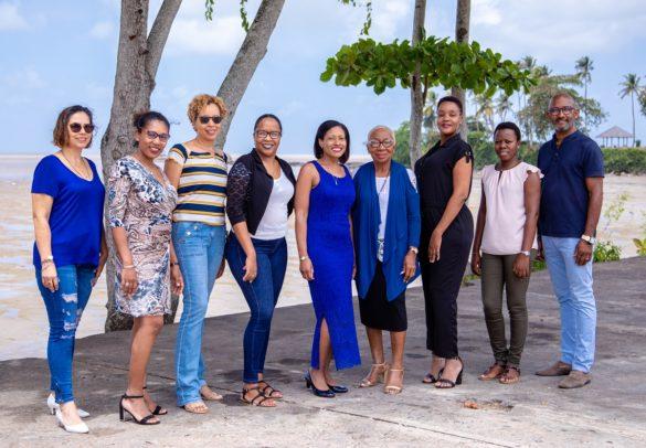 Equipe de l'opération de dépistage Mars Bleu - CRCDC - Guyane