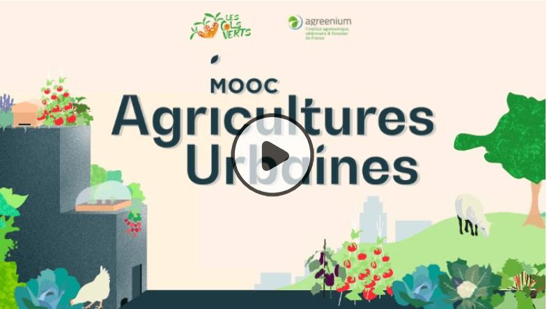 Copie écran MOOC Agricultures Urbaines