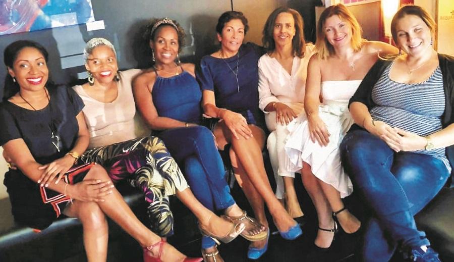 Quelques femmes du Réseau Entreprendre Guadeloupe