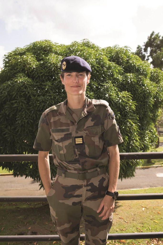 Elisa - commandant d'unité - RSMA Martinique