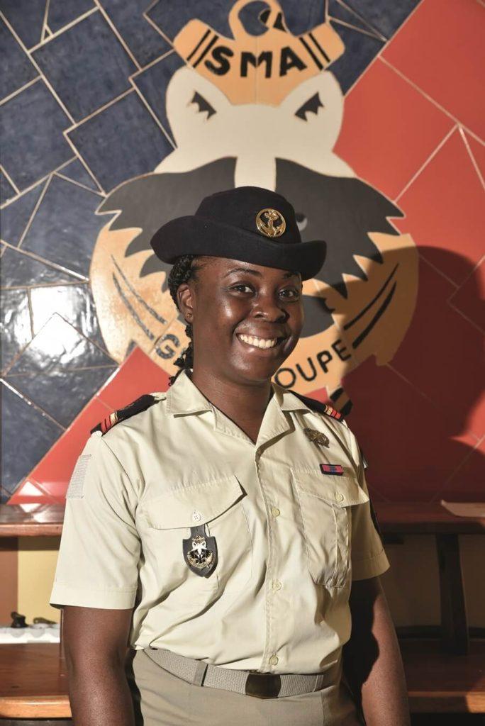 Kelly - formatrice - RSMA Guadeloupe