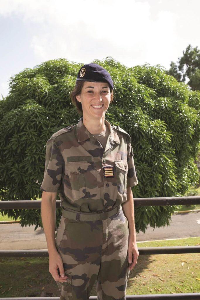 Laureline - médecin principal - RSMA Martinique