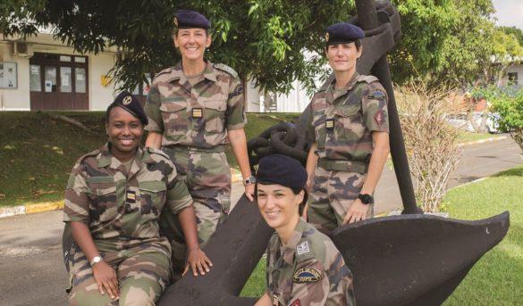 Femmes du RSMA Martinique