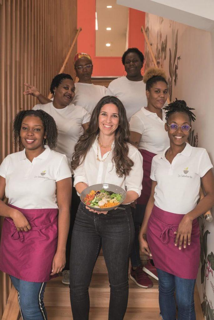 Equipe Le Saladier Bio - Guadeloupe