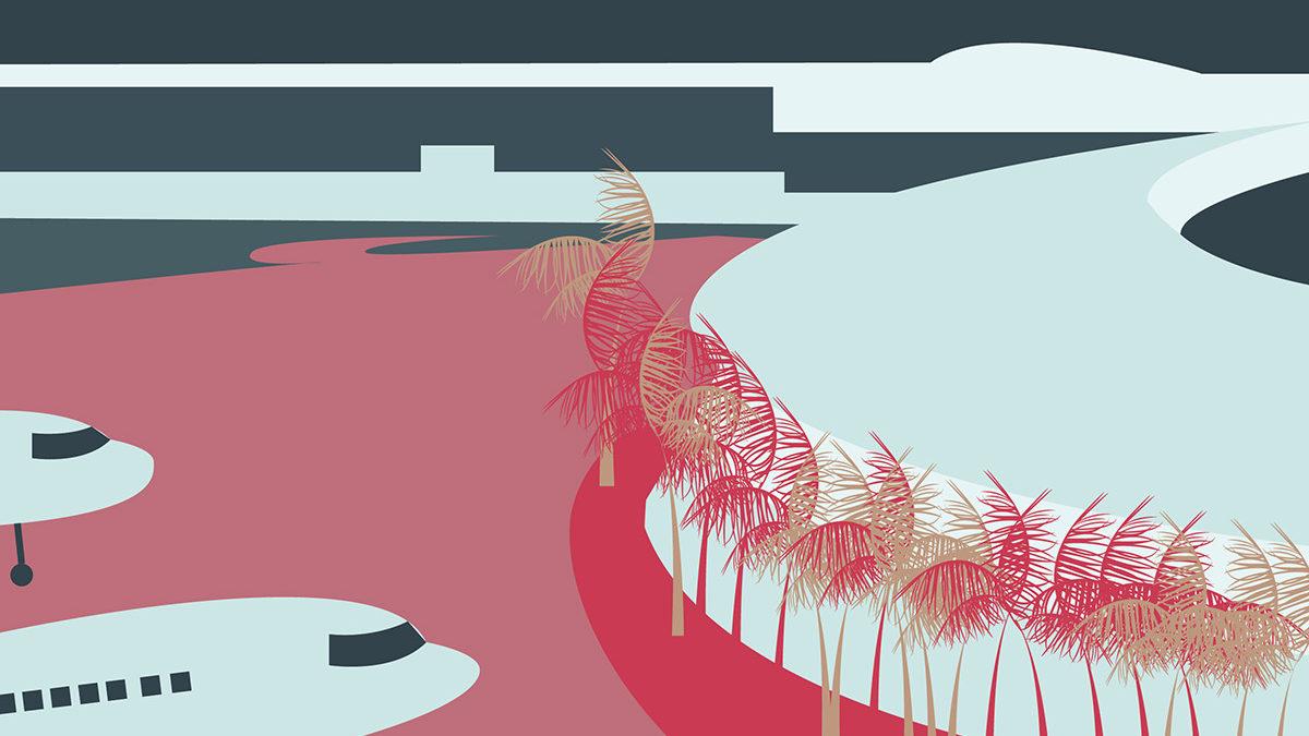 L'aéroport Aimé Césaire en première ligne, les mesures face à la crise