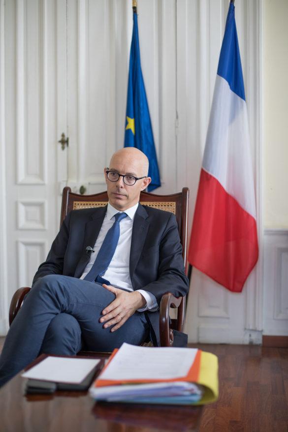 Stanislas Cazelles - préfet de la Martinique - interrogé sur le Covid-19 par EWAG