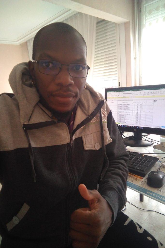 Melvin Foliwe - membre Jeunesse Outremer