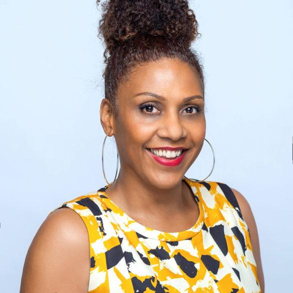 Nathalie Anglio - créatrice de l'agence de communication The Collab - Martinique