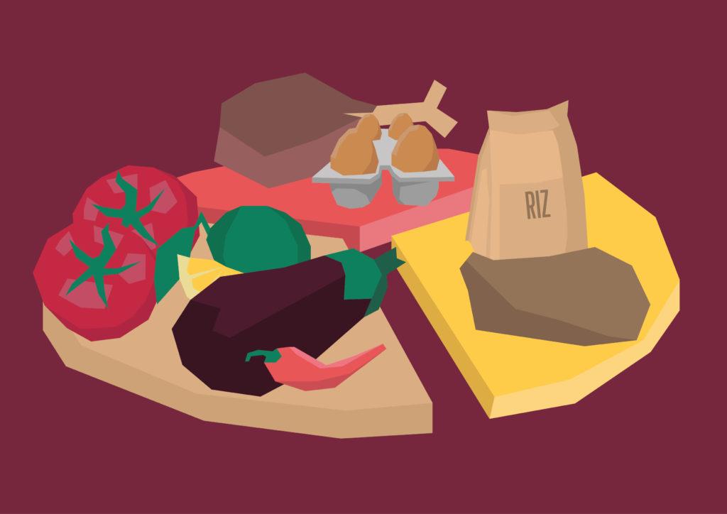 Illustration nourriture