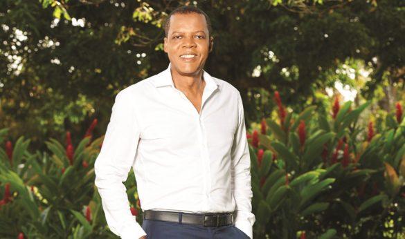 Ferdy Louisy, maire de Goyave, Guadeloupe