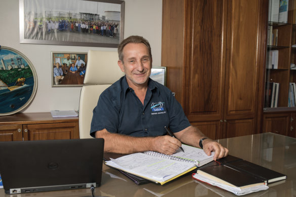 Philippe Guy - directeur général - SARA Martinique