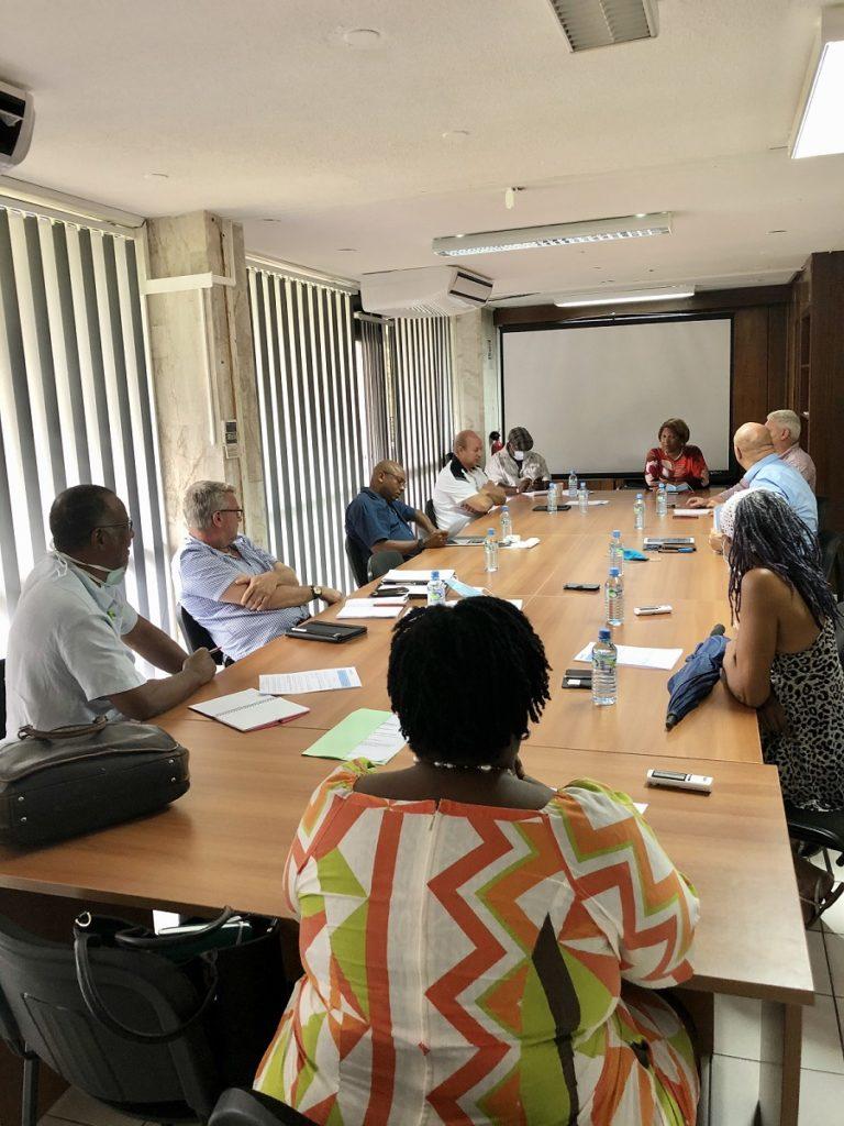 Réunion sur le Fonds d'urgence économique des territoires de Guyane - CESECE