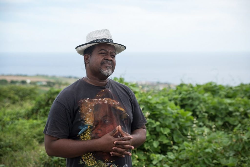Jean-Claude Glandor - président ordre des gardiens du patrimoine guadeloupéen