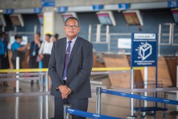 Alain Bievre - directeur aéroport Pôle Caraibes