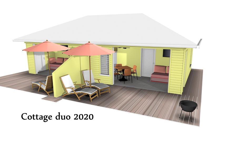 Concept de village d'hôtes - Tropical Management Guadeloupe