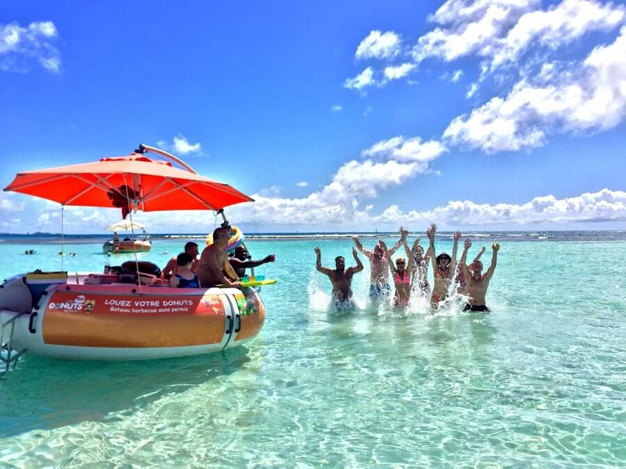 Donuts BBQ Boat Guadeloupe