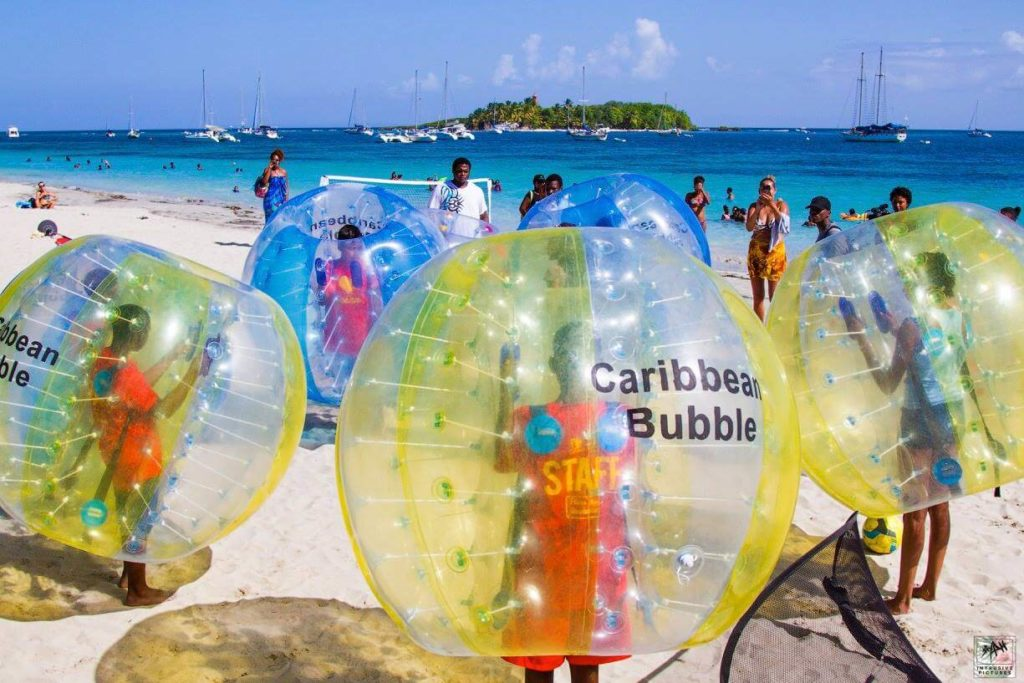 Bubble Foot - Caribbean Bubble - Guadeloupe