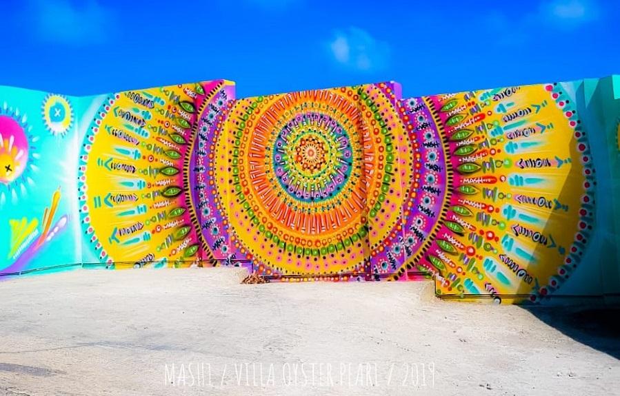 GRAFFITI TOUR by Mash à Saint-Martin