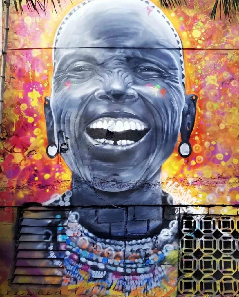 Fresque murale - yeswoodini - St Martin