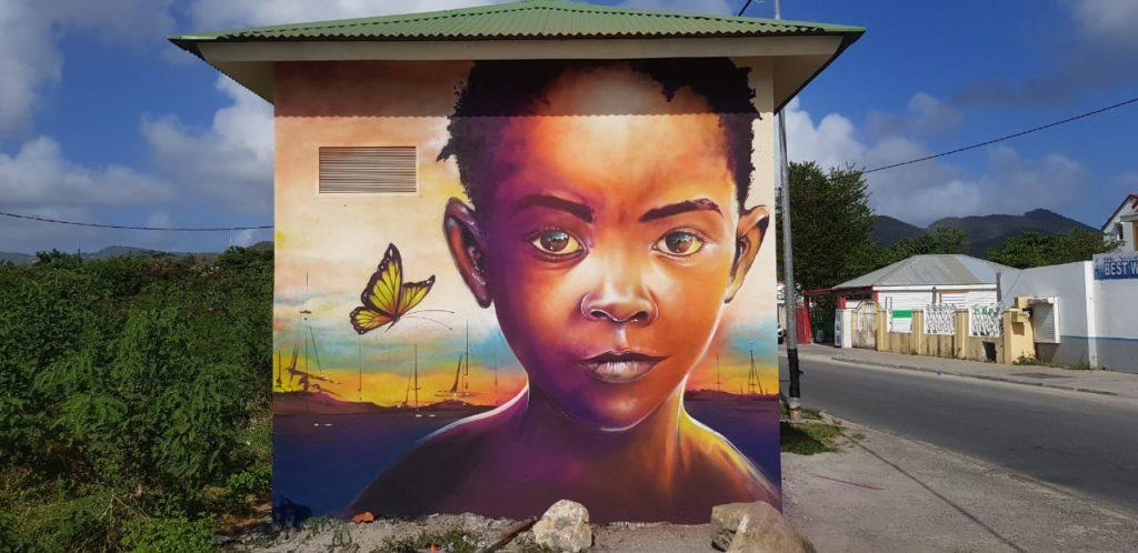 Fresque @jimmysheik - Saint-Martin