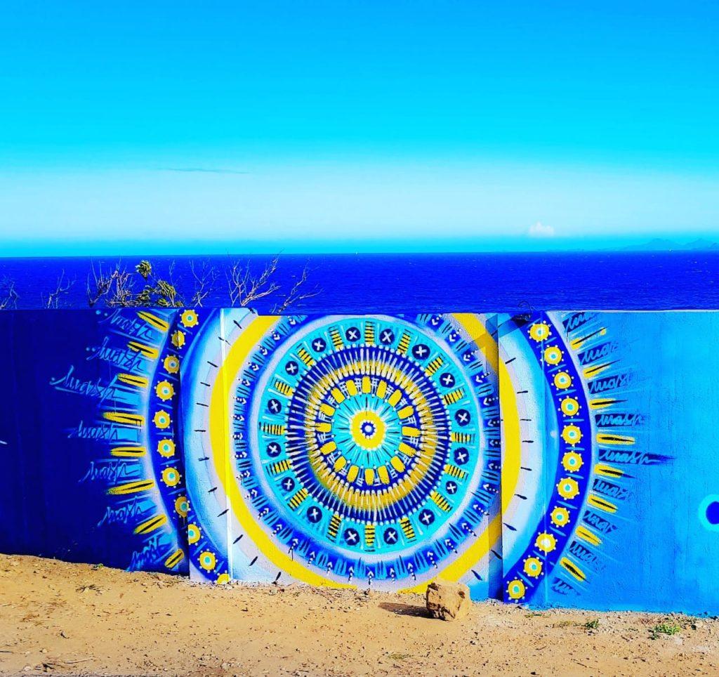 Fresque Mandala - @mashinart - St Martin